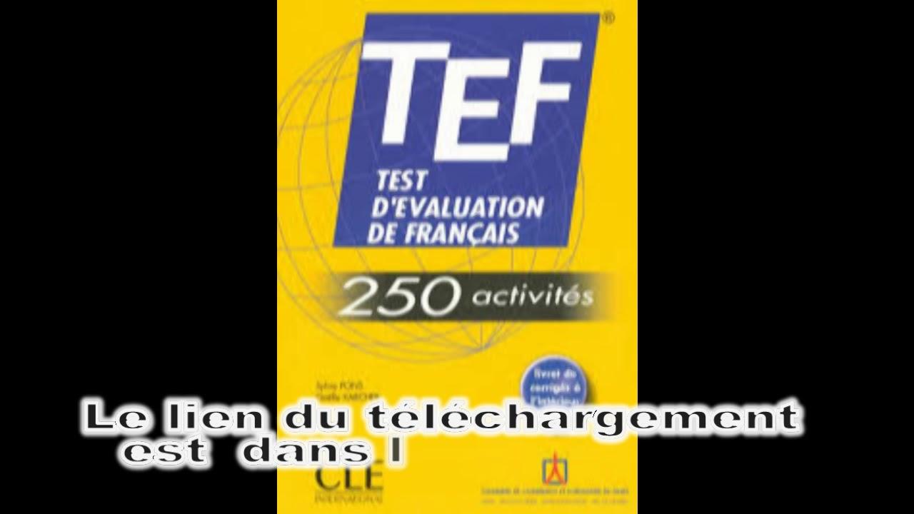 FRANÇAIS (TCF LIVRE CD CONNAISSANCE AUDIO TÉLÉCHARGER DU TEST DE