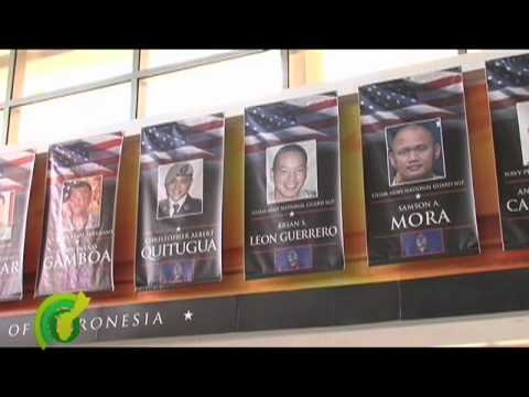 Group of Guam's Fallen Heroes to be Finally Honored at the Airport