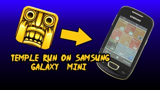 Temple Run on android 2.3.6 !!!