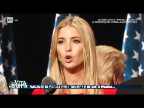 Ivanka Trump, un ufficio alla Casa Bianca per lei  La Vita in Diretta 27032017