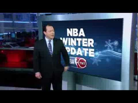 NBA on TNT Chad Myers Tease for MIA vs NYK / OKC vs DEN Doubleheader