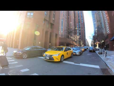 ⁴ᴷ⁶⁰ Walking NYC : Upper East Side, Manhattan (2nd Avenue from 96th Street to 60th Street)