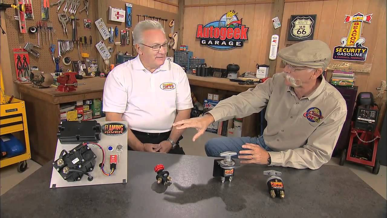 Flaming River Battery Disconnect Switches  YouTube