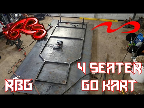 how to make a simple go kart frame