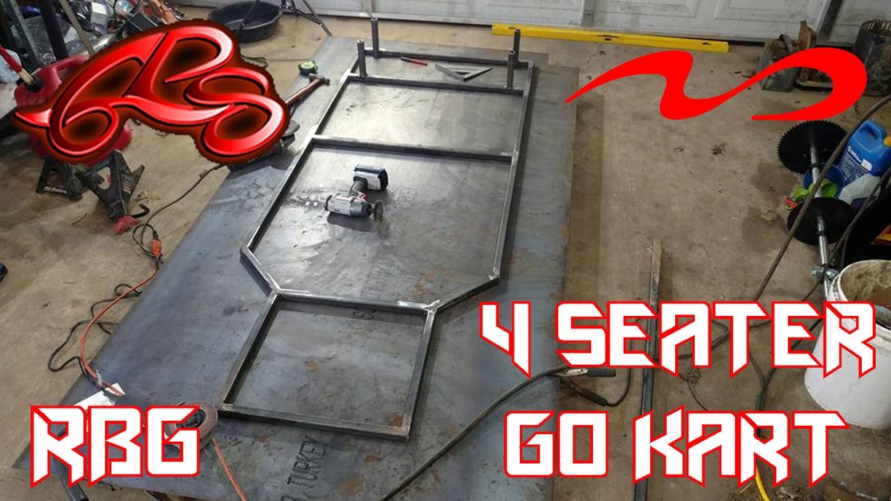 4 Seater Kids Go Kart Build Ep 1