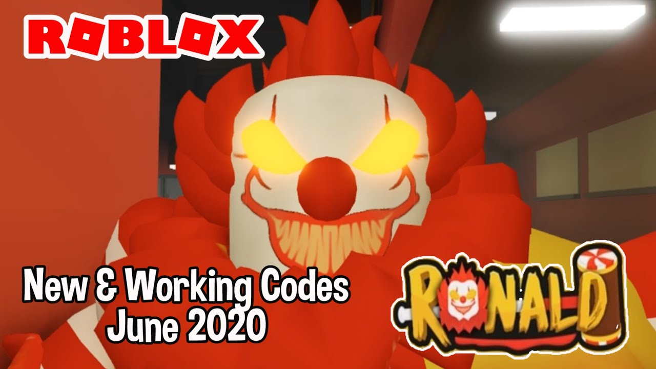 Roblox Ronald Part 2 New & Working Codes June 2020 - YouTube