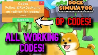 *ALL* OP WORKING CODES! Roblox Doge Simulator