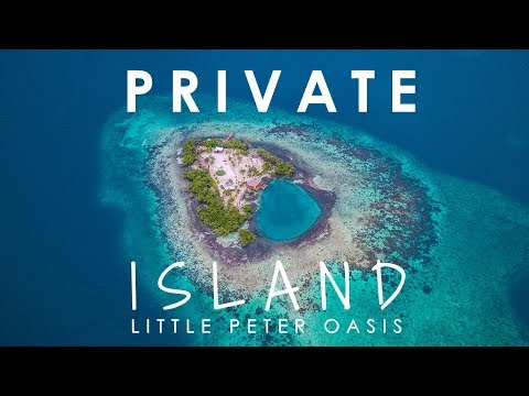 RENT A PRIVATE ISLAND | Little Peter Oasis, Belize