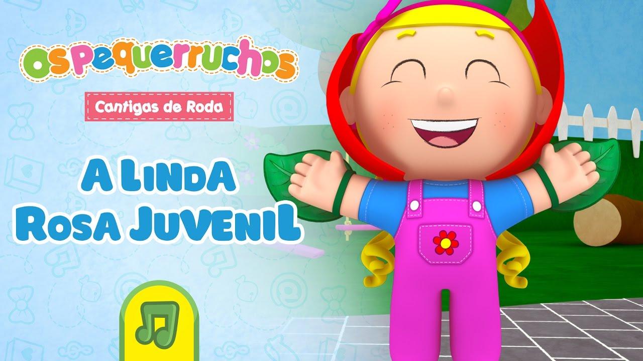 Os Pequerruchos A Linda Rosa Juvenil Dvd Cantigas De Roda
