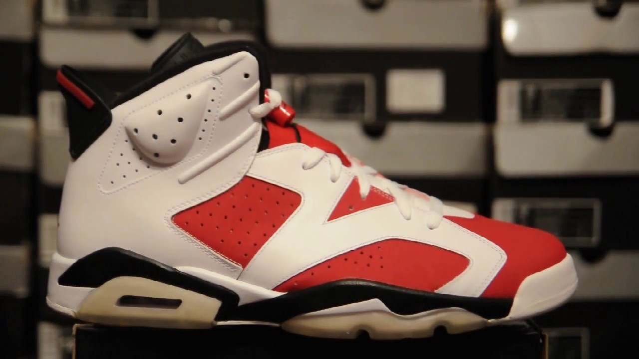 watch 07efb 7cc02 2008 Air Jordan 6 (VI) Retro CDP   Carmine   Collezione   Countdown Pack