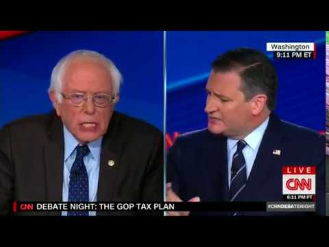 Ted Cruz Brutally Schools Bernie Sanders on 'Robin Hood' Analogy