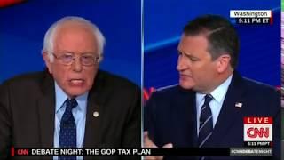 Ted Cruz Brutally Schools Bernie Sanders on 'Robin Hood' Analogy