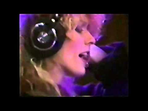 Nancy in the studio These Dreams '85