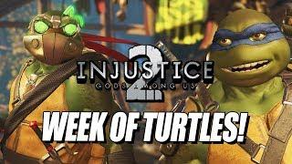 WEEK OF! Ninja Turtles: Injustice 2 Ranked Matches