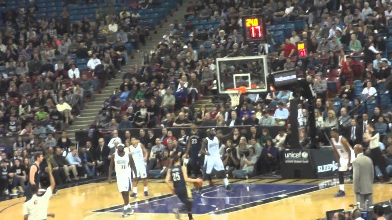 KIngs Pelicans End of 3rd Quarter