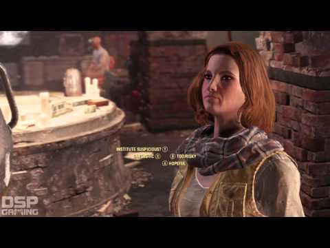 Fallout 4 playthrough pt159 - Underground Missions Resume! The Inside Man