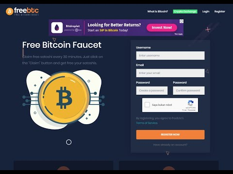 Earn Free BTC From Faucet And Watch Youtube At Freeb.tc