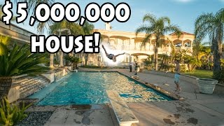 THE $5,000,000 MILLION DOLLAR HOUSE POOL PARTY!!