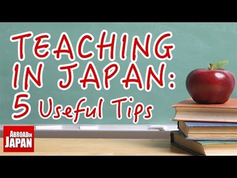 Teaching in Japan: 5 Useful Tips for Beginners