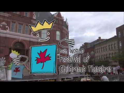 World Festival Of Childrens Theatre opening ceremony