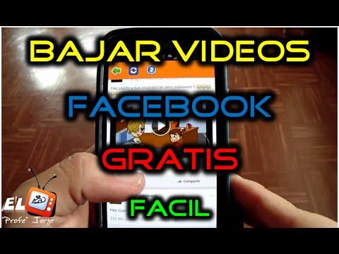 aprende como descargar videos facebook android
