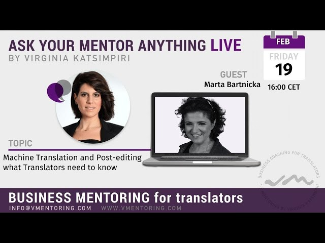 Ask Your Mentor Anything Live with Virginia Katsimpiri FT. Marta Bartnicka