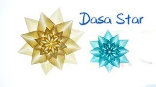 [Hello Malinda] Origami Tutorial: Dasa Star (Alessandro Beber) w/ sub|【折纸教程 - 哈喽玛琳达】超级漂亮的Dasa Star