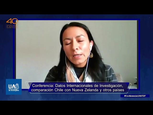 EN VIVO - Conferencia: Datos Internacionales de Investigación UANTOF