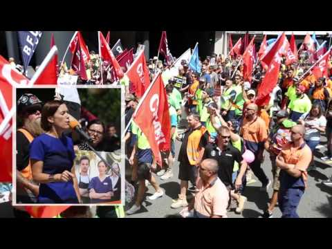 Brisbane union rally