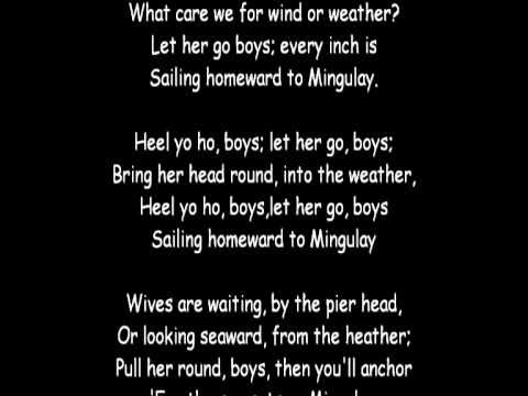 The Mingulay Boat Song