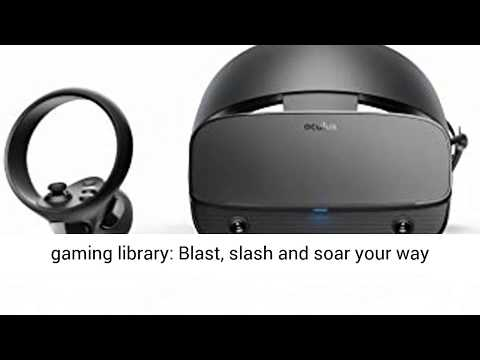 Oculus Rift S PC-Powered VR Gaming Headset  - REVIEW