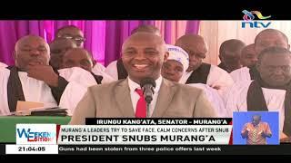 This is President Uhuru's bedroom, says Murang'a Senator