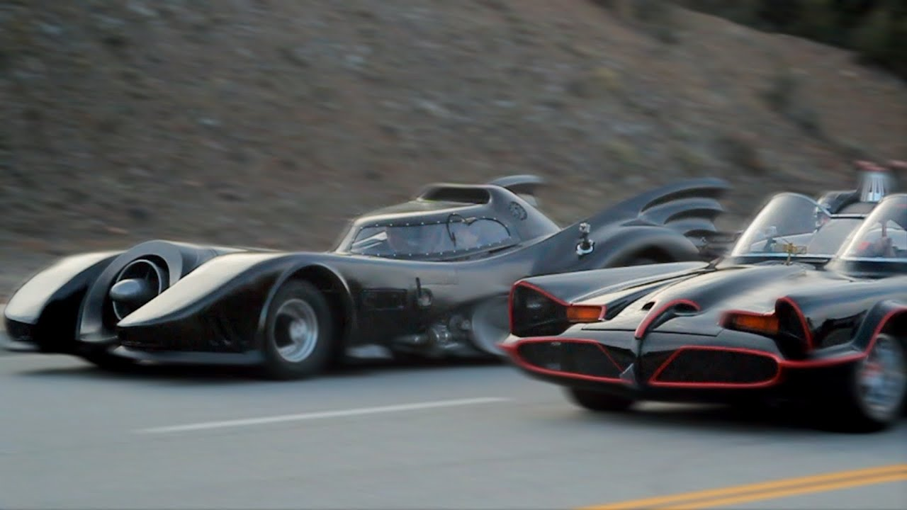 4k Wallpaper Muscle Car Batmobile Race Super Power Beat Down The Race Youtube