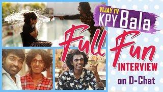 Vijay Tv - KPY Bala Turns Violent on D-Chat / Cards Of Lies / Watta A War!!! /Full Fun Interview