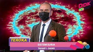 Teroka (2021)   Tahap 1: Sains – Sistem Suria
