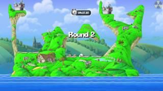 Worms Crazy Golf: 2/18 - Britannia (Holes 4-6)