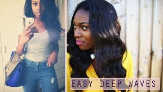 HOW TO| DEEP SEXY CURLY HAIR! Thumbnail