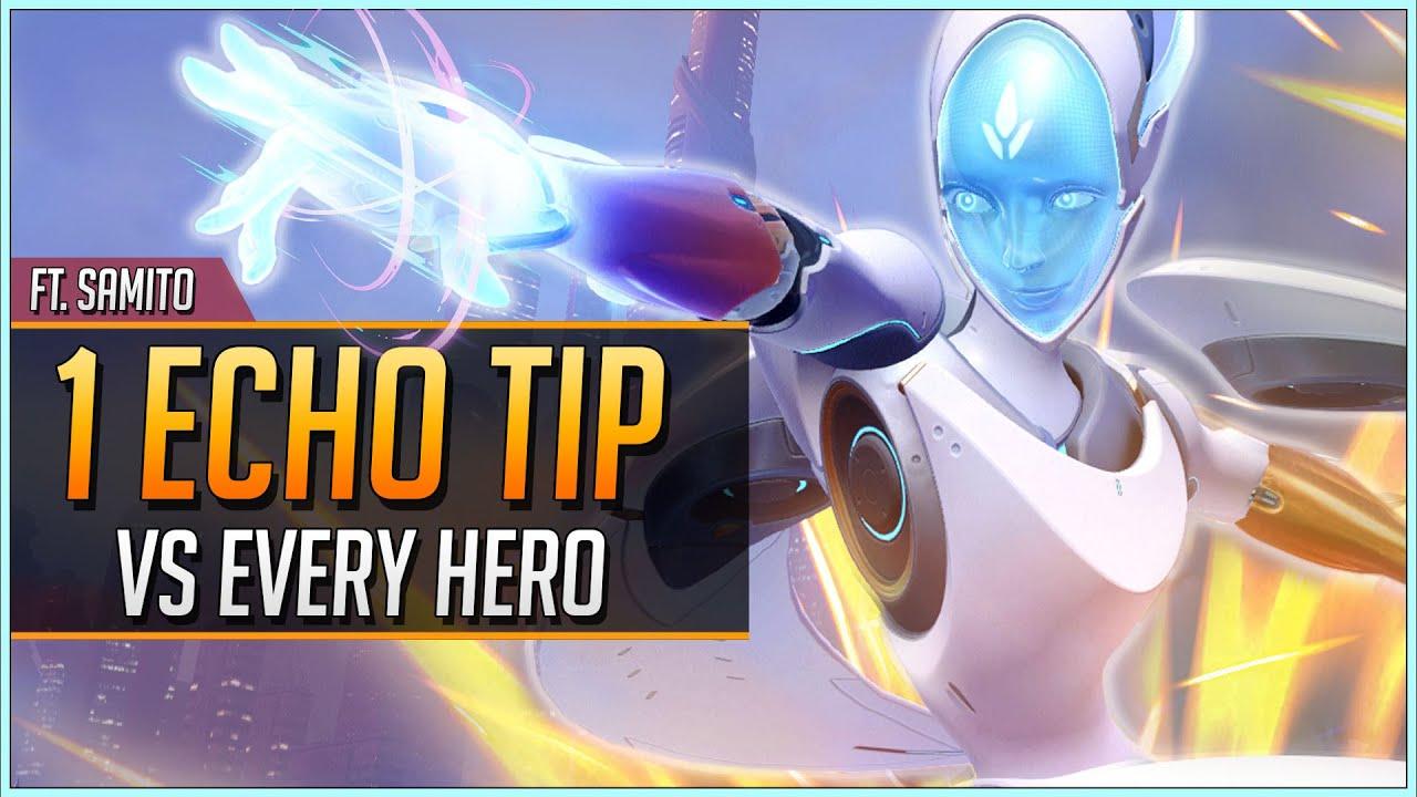 1 ECHO TIP vs EVERY HERO ft. Samito