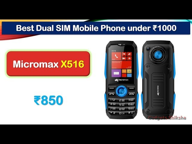 9 Best Mobile Phone under 1000 Rupees in India 2019
