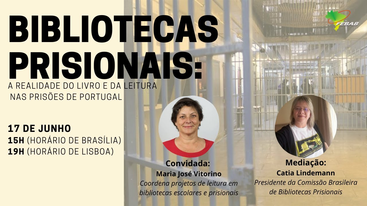 Bibliotecas prisionais a realidade do livro e da leitura nas prisoes de portugal