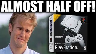 The PlayStation Classic Is Officially A Discounted Failure