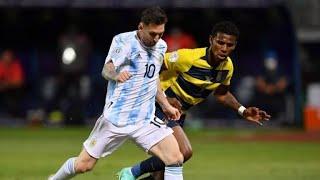 Обзор матча Аргентина Эквадор 3 0 Copa America 2021 1 4 финала