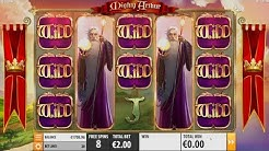 "Mighty Arthur slot - ""Epic"" Win €2 Bet - Quickspin"