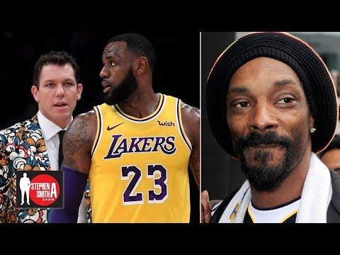 Snoop Dogg: Luke Walton is too young to coach LeBron    Stephen A. Smith Show