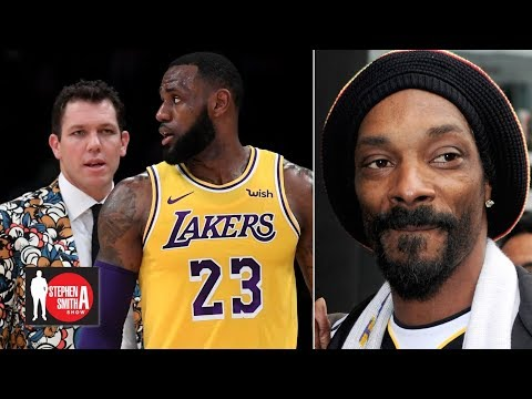 Snoop Dogg: Luke Walton is too young to coach LeBron  | Stephen A. Smith Show