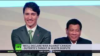 Duterte threatens 'war against Canada'... over trash