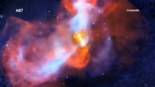 Извержение вулкана в M87