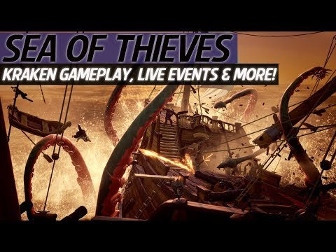 Sea Of Thieves News - New Kraken Gameplay, Live Quest & Events, Shanty Books, New Enemies & More!