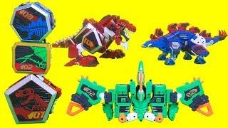 figcaption 지오메카 캡틴다이노 프테라스톰 티라노투스 스테고탱크  공룡 장난감 솔리드변신 GeoMecha Captain Dino Pterastorm toys