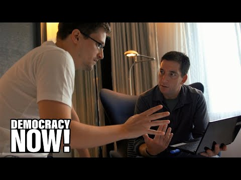 Citizenfour: Inside Story of NSA Leaker Edward Snowden Captured in New Film by Laura Poitras